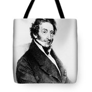 Johann Von Malfatti Tote Bag