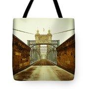 John A. Roebling Bridge Tote Bag