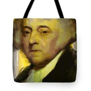 John Adams Tote Bag by Corporate Art Task Force