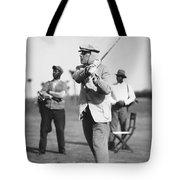 John D. Rockefeller Golfing Tote Bag