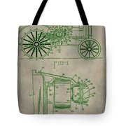 John Deere Patent Tote Bag