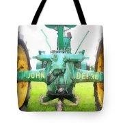 John Deere Tractor Tote Bag