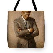 John F Kennedy 2 Tote Bag