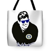 John F Kennedy Signature Wayfarer Tote Bag by Jost Houk