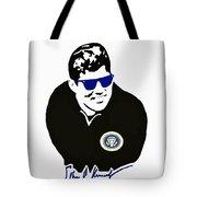 John F Kennedy Signature Wayfarer Tote Bag