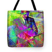 John Fitzgerald Kennedy Jfk In Abstract 20130610 Tote Bag