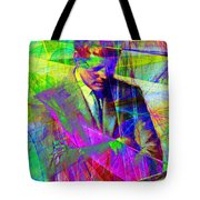John Fitzgerald Kennedy Jfk In Abstract 20130610v2 Tote Bag