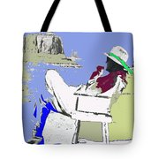 John Ford The Searchers Set Monument Valley Arizona 1955-2010 Tote Bag