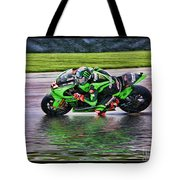 John Hopkins 2005 Motogp Red Bull Suzuki Tote Bag