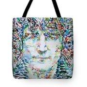 John Lennon Portrait.1 Tote Bag