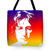 John Lennon The Legend Tote Bag