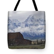 John Moulton Barn Grand Teton National Park Wyoming Tote Bag
