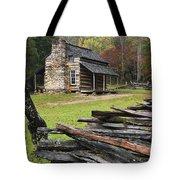 John Oliver Cabin - D000352 Tote Bag by Daniel Dempster
