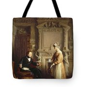 John Sheepshanks And His Maid Tote Bag
