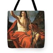 John The Baptist Tote Bag