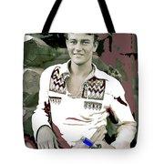 John Wayne In Buckskins The Big Trail 1930-2013 Tote Bag