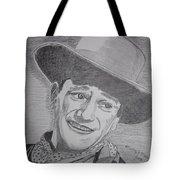 John Wayne Tote Bag