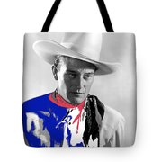 John Wayne Publicity Photo Overland Stage Raiders 1938 Tote Bag