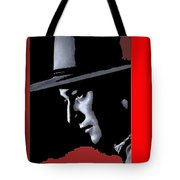 John Wayne Ringo Kid Portrait Stagecoach 1939-2013 Tote Bag