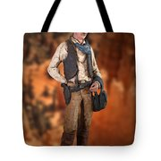 John Wayne The Cowboy Tote Bag