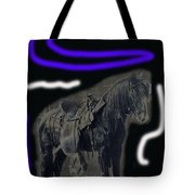 John Wayne The Horse Soldiers Homage #2 1959 C.1880 Tote Bag