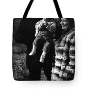 Johnny Cash And Family Old Tucson Arizona 1971 Tote Bag