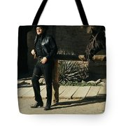 Johnny Cash Horse Old Tucson Arizona 1971 Tote Bag