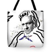 Johnny Cash Man In White Literary Homage Old Tucson Arizona 1971-2008 Tote Bag