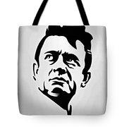Johnny Cash Poster Art Portrait Tote Bag