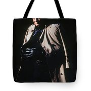 Johnny Cash Trench Coat Old Tucson Arizona 1971 Tote Bag
