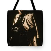 Johnny Cash Trench Coat  Sepia Variation Old Tucson Arizona 1971 Tote Bag