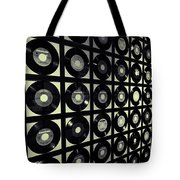 Johnny Cash Vinyl Records Tote Bag