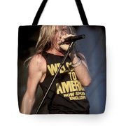 Johnny Crash Tote Bag