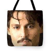 Johnny Depp Portrait Tote Bag