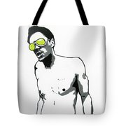Johnny Knoxville Tote Bag