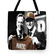 Johnny Manziel  Tote Bag