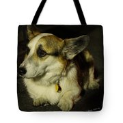 Johnny Waits Patiently Tote Bag