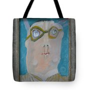 John's Dad Seeing Babies Born - Framed Tote Bag