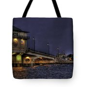 John's Pass Bridge Tote Bag