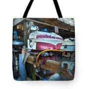 Johnson Motor Tote Bag