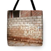 Jolly Happy Pongal Tote Bag