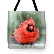 Jolly Old ....... Cardinal  Tote Bag