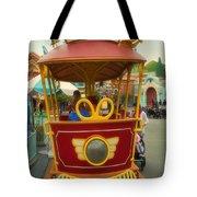 Jolly Trolley Disneyland Toon Town Tote Bag