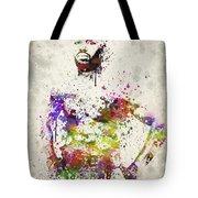 Jon Jones Tote Bag by Aged Pixel