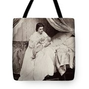 Jonghe: Young Mother Tote Bag
