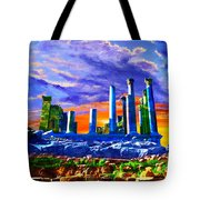 Jordan 04 Tote Bag by Catf