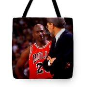 Jordan And Coach Tote Bag