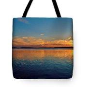 Jordan Lake Sunset 2 Tote Bag by Kelly Nowak