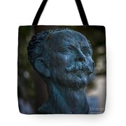 Jose Marti Statue Cadiz Spain Tote Bag