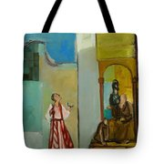 Joseph Sent To His Brothers Tote Bag by Richard Mcbee